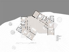 Gallery of Houses in Lago Colico / Benjamin Goñi Arquitectos + Claro + Westendarp Arquitectos - 21 Ground Floor Plan, 21st, Floor Plans, Flooring, Gallery, Houses, Graphics, Architects, Flats