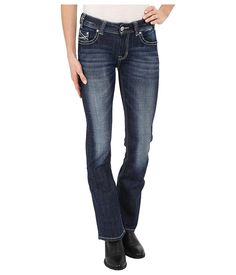 Rock and Roll Cowgirl Womens Mid-Rise Bootcut in Medium Vintage W1-6435 -- This is an Amazon Affiliate link. Find out more about the great product at the image link.