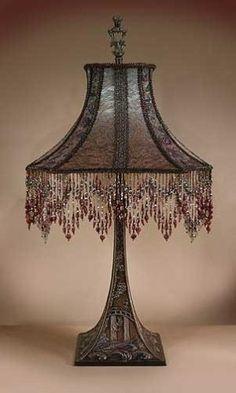 lampe victorienne par susana