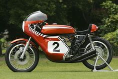 Very cool and old-school Honda.