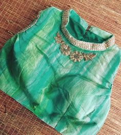 For order and more info contact us on 6394837380 Choli Designs, Sari Blouse Designs, Saree Blouse Patterns, Bridal Blouse Designs, Blouse Styles, Blouse Tutorial, Maggam Work Designs, Indian Blouse, Beautiful Blouses