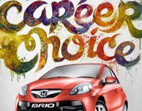 Honda Brio Ad Campaign by Teagan White, via Behance