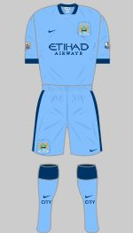 Manchester City - Home Kit.