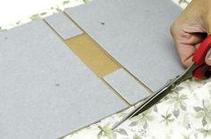 Caderno de assinaturas feito com forração - Portal de Artesanato - O melhor site de artesanato com passo a passo gratuito