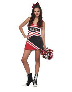 cheerleader teen costume - Sundrop Halloween Costume