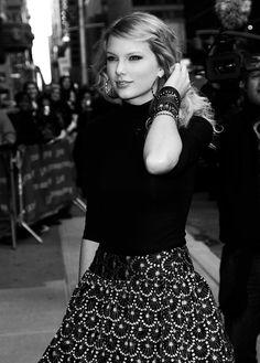 Taylor Swift, flawless.
