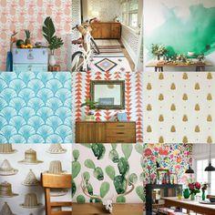 Ever So Juliet | UK Lifestyle, Beauty & Baking blog: FRIDAY FLAT CHAT: WONDERFUL WALLPAPER Uk Lifestyle, Gallery Wall, Friday, Flat, Baking, Wallpaper, Beauty, Home Decor, Wallpaper Desktop