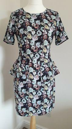 H & M Women's Floral Print Dress Size.M/14-16 Smock Dress, Skater Dress, Peplum Dress, Bodycon Dress, Nautical Dress, H&m Women, Sale Uk, Print Shift, Pink Summer
