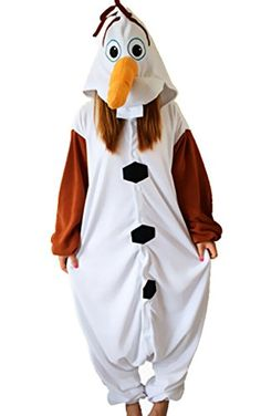 Kigurumi Pyjamas Bonhomme de Neige Collant//Combinaison F/ête//C/él/ébration Pyjamas Animale Halloween Marron Mosa/ïque Polaire Kigurumi pour
