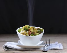 Brussels sprouts with bacon. Do you know Brussels sprouts are so healthy than broccoli?