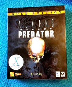 Aliens Versus Vs Predator: Gold Edition Apple Mac Big Box Complete Shooter Game