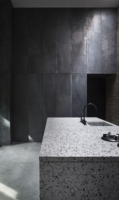 Peter's House is a minimal home located in Copenhagen, Denmark, designed by Studio David Thulstrup.