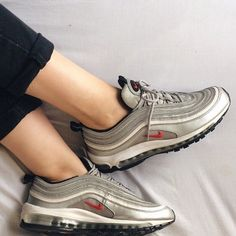 Cheap Nike AIR MAX 97 ULTRA Silver/Red/Whte Hype DC