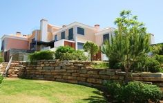 Properties for sale in Vale do lobo Algarve - Offering 3 bedrooms & 3 bathrooms measuring a buid area featuring basement, wine cellar, garage, covered Algarve, Wine Cellar, Property For Sale, Mansions, House Styles, Home Decor, Wolves, Riddling Rack, Decoration Home