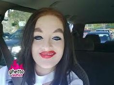 OMG! Lol the full all around eyeliner is NOT okay and for the love stop drawing on your eyebrows so much!
