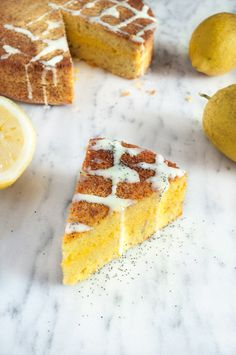 lemon yogurt cake (gluten free)