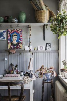 workspace | Hemma hos Tuva Minna Linn |