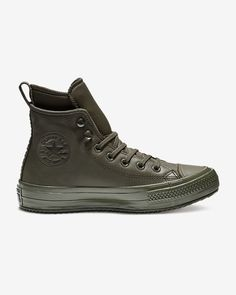 designer fashion 43a6e c8e7f Converse Chuck Taylor All Star Waterproof High Top Boot Unisex Leather Boot