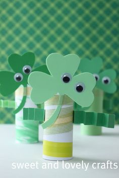 10+ awesome St Patrick's Day crafts for kids - Kiddie Foodies