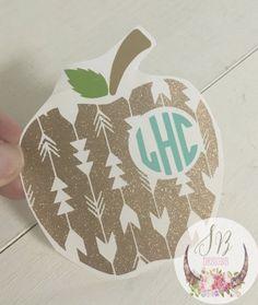 Buy Sophie Breanna designs at Etsy. Etsy S . Monogram Stickers, Vinyl Monogram, Cricut Vinyl, Cricut Craft, Yeti Decals, Vinyl Decals, Teacher Appreciation Gifts, Teacher Gifts, Vinyl Gifts