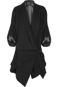 Jean-Pierre Braganza God Given wool-crepe coat | The Outnet