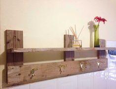 #Bathroom, #Hanger, #RepurposedPallet