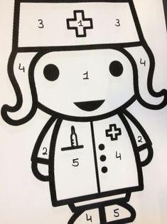 Doctor Theme Preschool, Mojito, Maths, Teaching Kids, Hello Kitty, Kindergarten, Snoopy, Fictional Characters, Activities