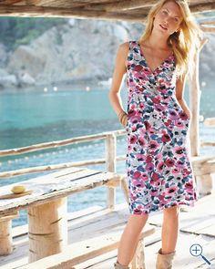 Starlet Knit dress by Garnet Hill  #garnethill and #summerstyle