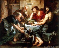Peter Paul Rubens - Jupiter und Merkur bei Philemon und Baucis