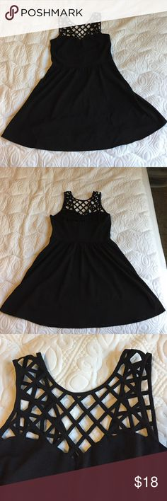 H&M Black Cocktail Dress Worn a few times. 94% Polyester. 6% Elastane. Very short, great for clubbing. Divided Dresses Mini