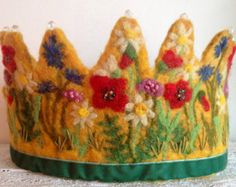 felted birthday crowns - Google Search
