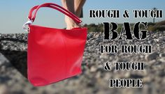 rough and tough leather bags available in www.