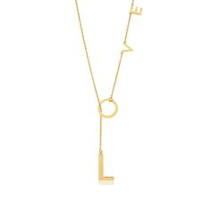 Love Lariat Necklace in 14K Gold Vermeil, Adornia Stylemined - Shop The Scoop as seen on EXTRA