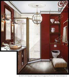 Дизайн ванной комнаты в стиле прованс http://www.ok-interiordesign.ru/blog/dizayn-vannoy-komnaty-v-stile-provans-foto.html