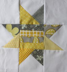 Quilting Diva Bee block for Jennifer by mccuisti, via Flickr