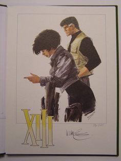 XIII Mystery - prent Dargaud uitgaven - (1994/1998) - W.B.