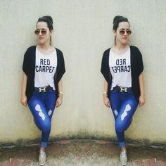 #look #jeans #tshirt
