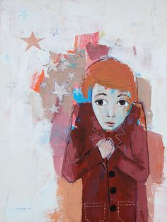 """Star moment"", 2011, painting by Vane Kosturanov."