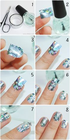 How To: DIY Nail Stickers