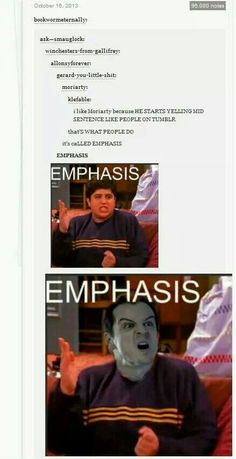 Emphasis!!
