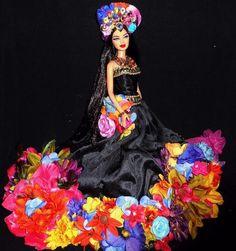 Beauty of the Amazon ~ Barbie doll ooak repaint fantasy dakotas.song