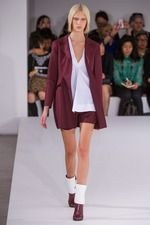 Love the color way suggestions at Jil Sander Spring 2013 Ready-to-Wear