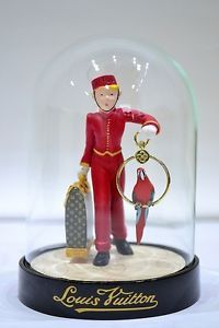 Authentic Louis Vuitton Snow Globe Dome VIP Extremely RARE Bell Boy 2012   Personal to me...I love it.