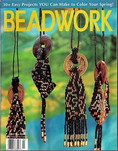 2001 Apr/May - BEADWORK magazine Volume 4 Number 3 (Used) at Sova-Enterprises.com