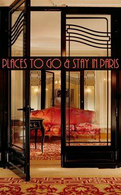 Places to go in Paris - suite at Hôtel Plaza Athenee | pic: Dorchester Collection