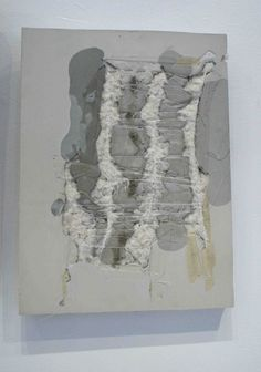 Capture a Friendship, a concrete and mixed media wall piece by Marlies Hoevers.