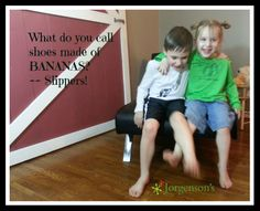 Gotta love kid jokes - and the kids that enjoy them!