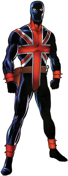 Union Jack of the Invaders (Lord Falsworth) (Marvel Comics) from the handbook