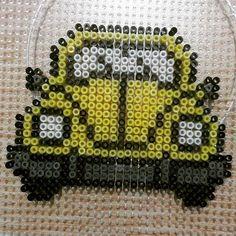 VW car hama beads by  sepialook