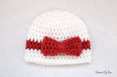 Free Preemie Crochet Pattern - Wrapped With Love Hat
